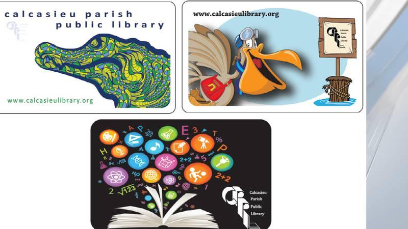 Calcasieu Parish Library unveils new card designs