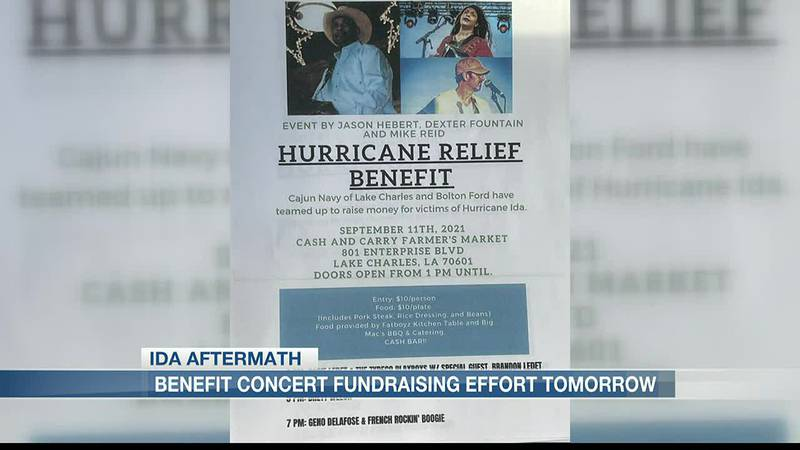 Cajun Navy, Bolton Ford host concert to benefit Ida victims