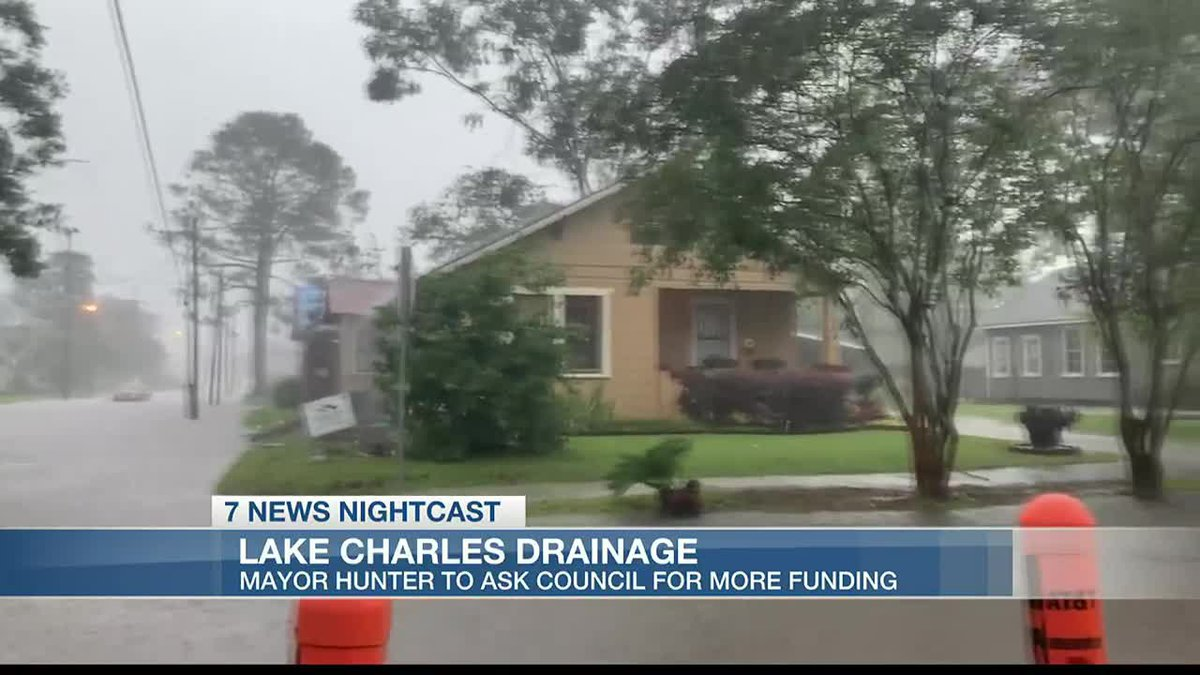 Mayor Hunter took to Facebook about the issues with the city's drainage system.