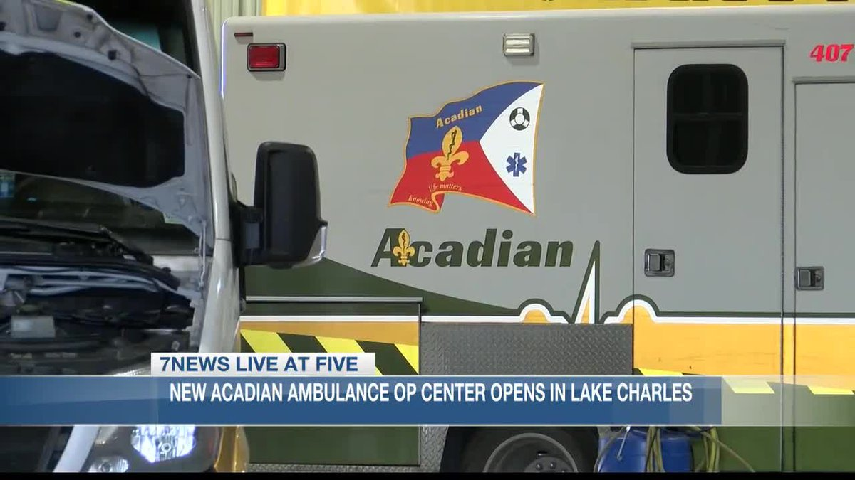 New Acadian Ambulance Center opens in Lake Charles