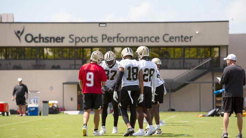 New Orleans Saints Organized Team Activities.
