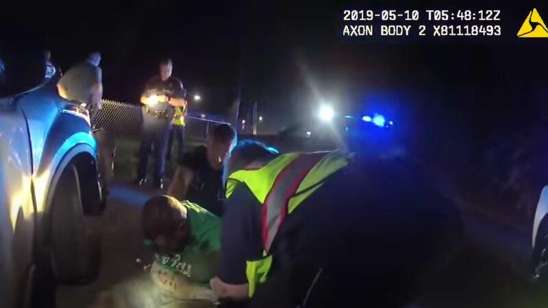 Body camera video of Ronald Greene's arrest